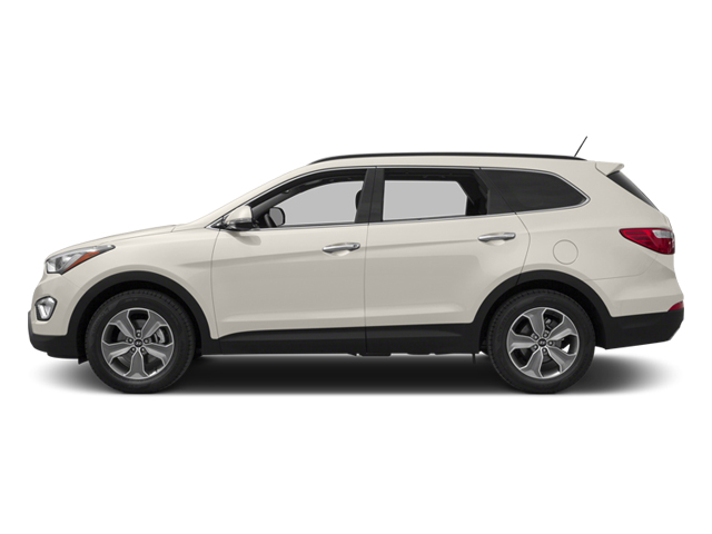 Monaco White 2014 Hyundai Santa Fe Pictures Santa Fe Utility 4D GLS Technology AWD photos side view