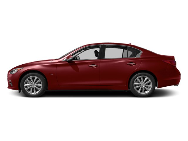 Venetian Ruby 2014 INFINITI Q50 Pictures Q50 Sedan 4D Sport V6 photos side view