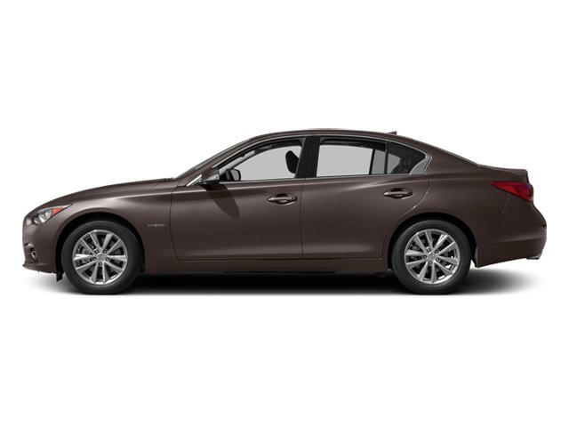 Chestnut Bronze 2014 INFINITI Q50 Pictures Q50 Sedan 4D Premium V6 Hybrid photos side view