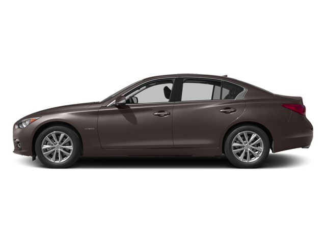 Chestnut Bronze 2014 INFINITI Q50 Pictures Q50 Sedan 4D Premium AWD V6 Hybrid photos side view
