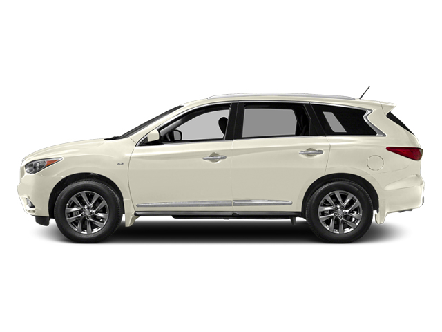 Moonlight White 2014 INFINITI QX60 Pictures QX60 Utility 4D 2WD V6 photos side view