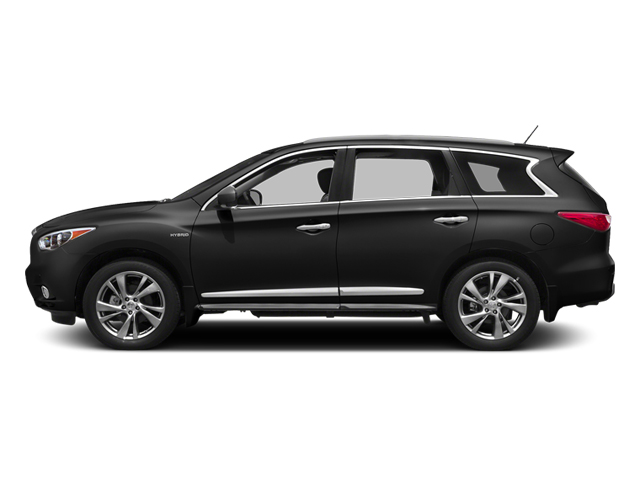 Black Obsidian 2014 INFINITI QX60 Pictures QX60 Utility 4D Hybrid AWD I4 photos side view