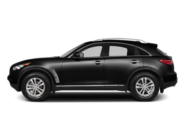 Black Obsidian 2014 INFINITI QX70 Pictures QX70 Utility 4D AWD V8 photos side view