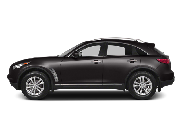 Midnight Mocha 2014 INFINITI QX70 Pictures QX70 Utility 4D AWD V6 photos side view