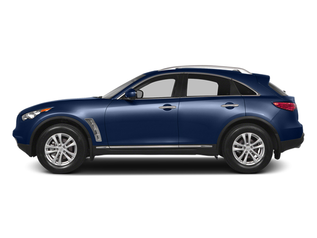 Iridium Blue 2014 INFINITI QX70 Pictures QX70 Utility 4D AWD V8 photos side view