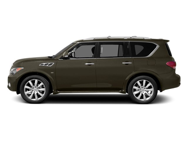 Smoky Quartz 2014 INFINITI QX80 Pictures QX80 Utility 4D 2WD V8 photos side view