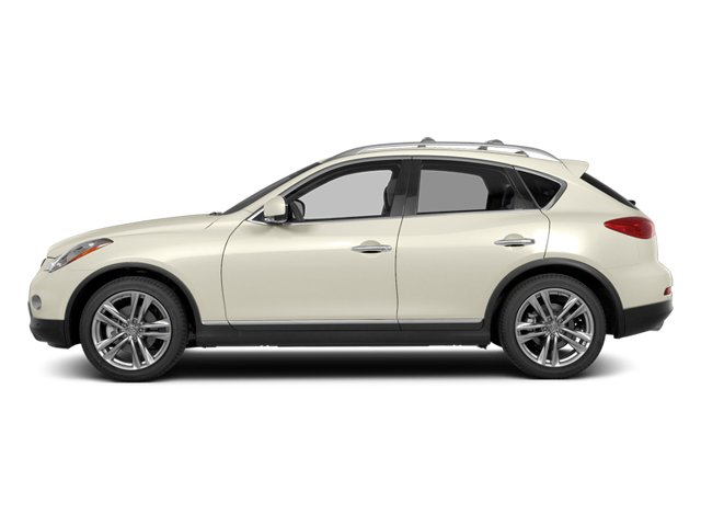 Moonlight White 2014 INFINITI QX50 Pictures QX50 Utility 4D Journey AWD V6 photos side view