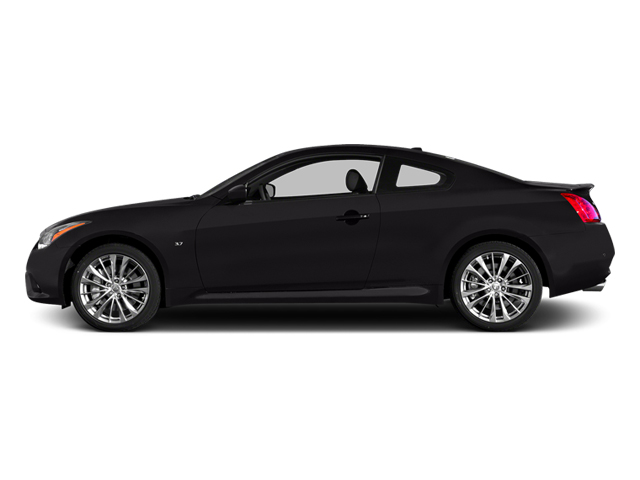 Malbec Black 2014 INFINITI Q60 Coupe Pictures Q60 Coupe 2D IPL V6 photos side view