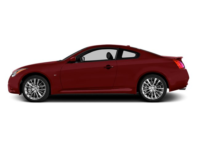 Venetian Ruby 2014 INFINITI Q60 Coupe Pictures Q60 Coupe 2D AWD V6 photos side view