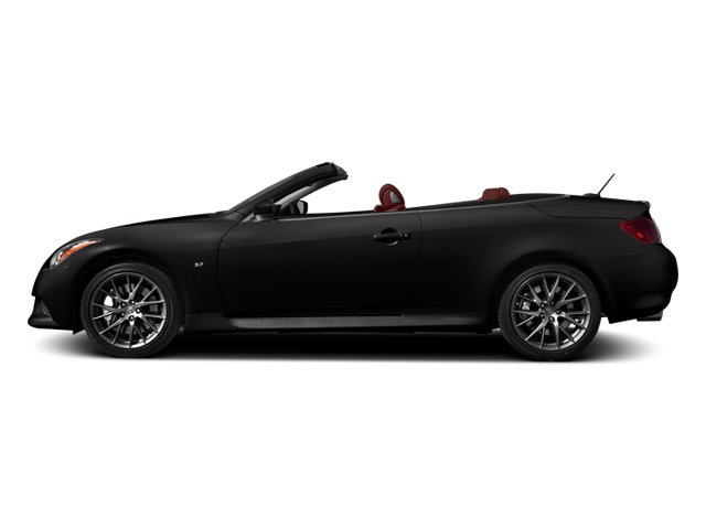Malbec Black 2014 INFINITI Q60 Convertible Pictures Q60 Convertible Convertible 2D IPL V6 photos side view