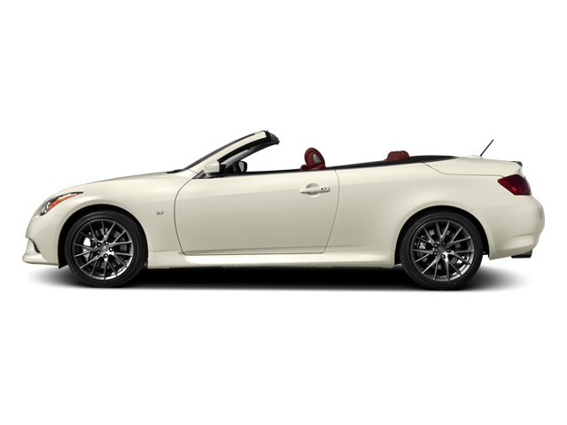 Moonlight White 2014 INFINITI Q60 Convertible Pictures Q60 Convertible Convertible 2D IPL V6 photos side view