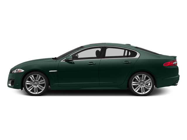 British Racing Green 2014 Jaguar XF Pictures XF Sedan 4D XFR V8 Supercharged photos side view