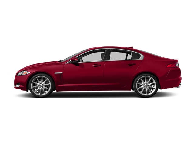 Carnelian Red Metallic 2014 Jaguar XF Pictures XF Sedan 4D V6 Supercharged photos side view
