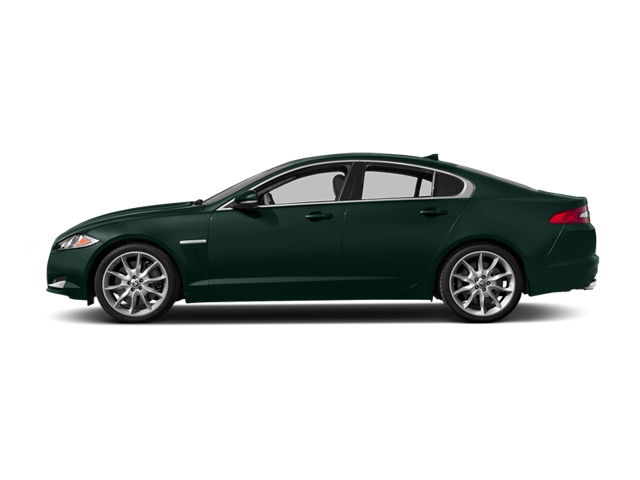 British Racing Green 2014 Jaguar XF Pictures XF Sedan 4D V6 Supercharged photos side view