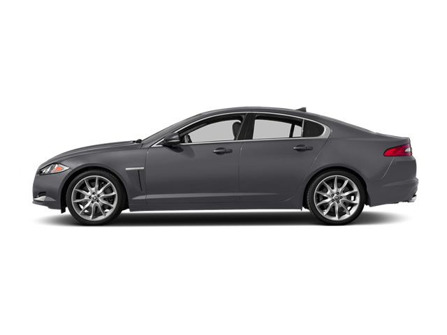 Lunar Gray Metallic 2014 Jaguar XF Pictures XF Sedan 4D V6 Supercharged photos side view