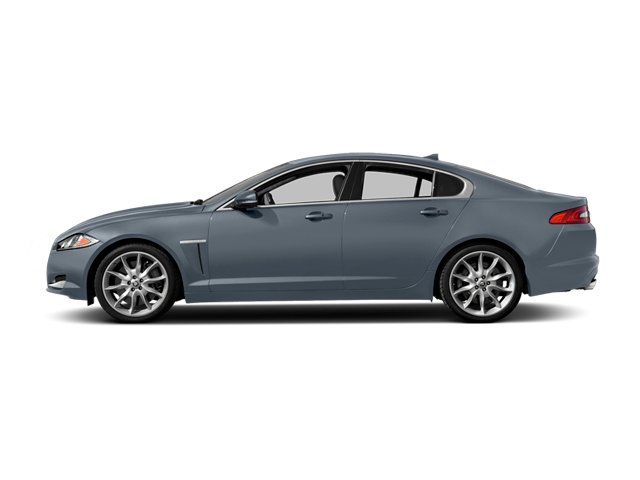 Satellite Gray Metallic 2014 Jaguar XF Pictures XF Sedan 4D V6 Supercharged photos side view