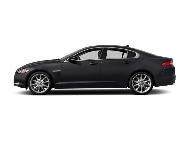 Stratus Gray Metallic 2014 Jaguar XF Pictures XF Sedan 4D AWD V6 Supercharged photos side view