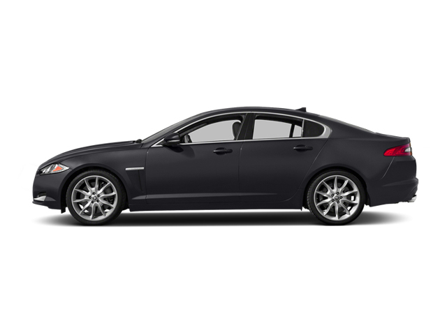 Stratus Gray Metallic 2014 Jaguar XF Pictures XF Sedan 4D V6 Supercharged photos side view