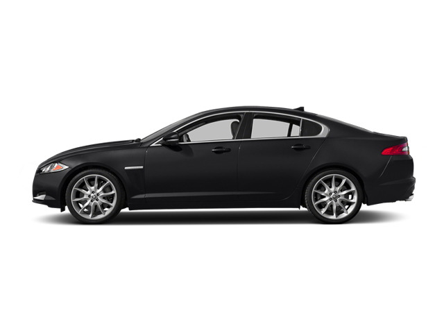 Ebony 2014 Jaguar XF Pictures XF Sedan 4D V6 Supercharged photos side view