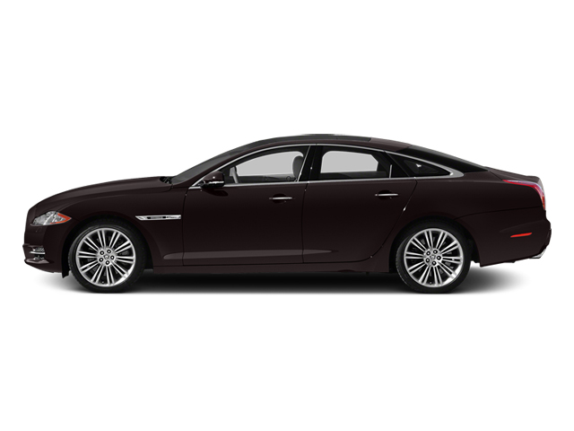 Caviar Metallic 2014 Jaguar XJ Pictures XJ Sedan 4D L XJR V8 Supercharged photos side view