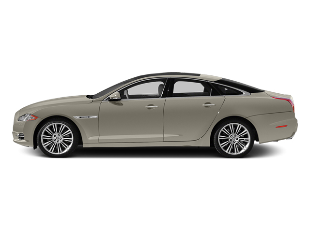 Cashmere Metallic 2014 Jaguar XJ Pictures XJ Sedan 4D L XJR V8 Supercharged photos side view