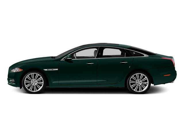 British Racing Green 2014 Jaguar XJ Pictures XJ Sedan 4D L XJR V8 Supercharged photos side view