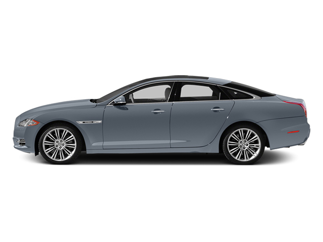 Satellite Grey Metallic 2014 Jaguar XJ Pictures XJ Sedan 4D L XJR V8 Supercharged photos side view