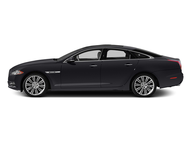 Stratus Grey Metallic 2014 Jaguar XJ Pictures XJ Sedan 4D L XJR V8 Supercharged photos side view
