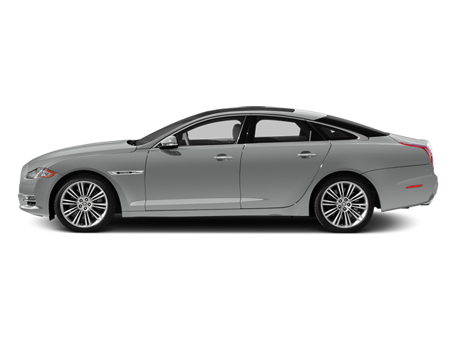 Rhodium Silver Metallic 2014 Jaguar XJ Pictures XJ Sedan 4D L XJR V8 Supercharged photos side view