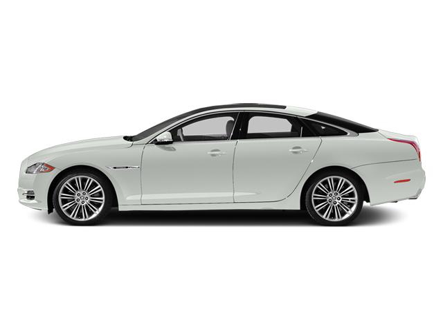 Polaris White 2014 Jaguar XJ Pictures XJ Sedan 4D L XJR V8 Supercharged photos side view