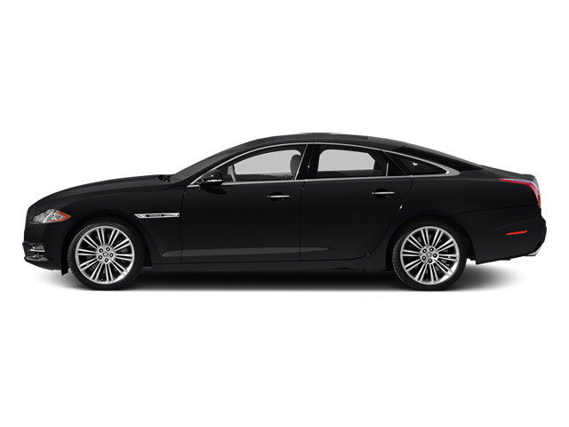 Ebony 2014 Jaguar XJ Pictures XJ Sedan 4D L XJR V8 Supercharged photos side view