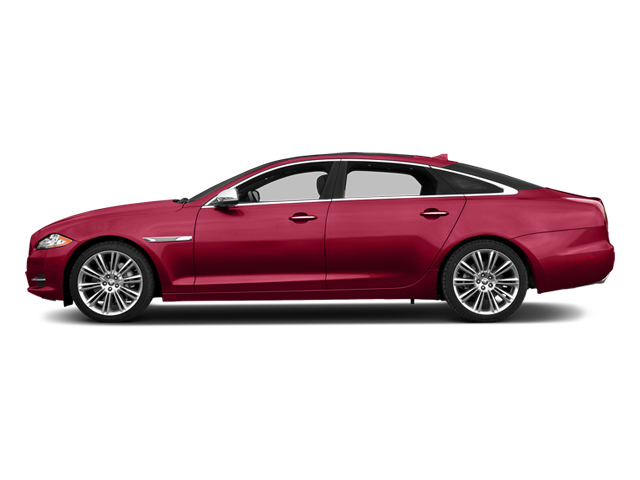 Carnelian Red Metallic 2014 Jaguar XJ Pictures XJ Sedan 4D L Portolio V6 photos side view