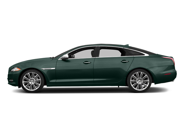 British Racing Green 2014 Jaguar XJ Pictures XJ Sedan 4D L Portolio V6 photos side view