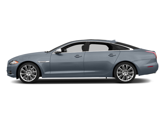 Satellite Grey Metallic 2014 Jaguar XJ Pictures XJ Sedan 4D L Portolio V6 photos side view