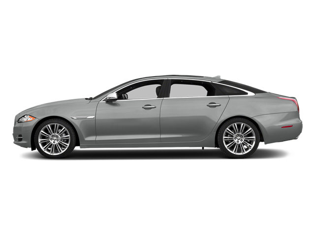 Rhodium Silver Metallic 2014 Jaguar XJ Pictures XJ Sedan 4D L Portolio V6 photos side view