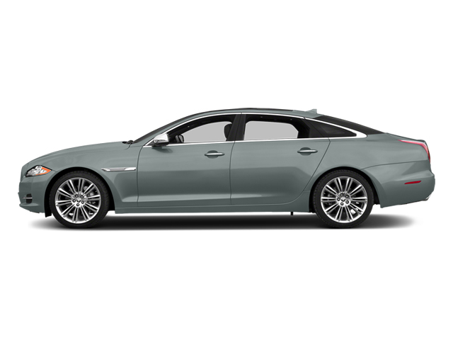 Osmium Blue Metallic 2014 Jaguar XJ Pictures XJ Sedan 4D L Portolio V6 photos side view