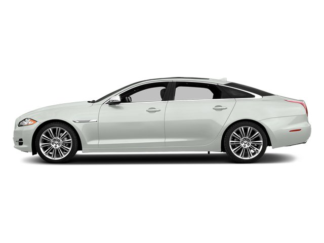 Polaris White 2014 Jaguar XJ Pictures XJ Sedan 4D L Portolio V6 photos side view
