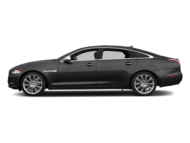 Ebony 2014 Jaguar XJ Pictures XJ Sedan 4D L Portolio V6 photos side view