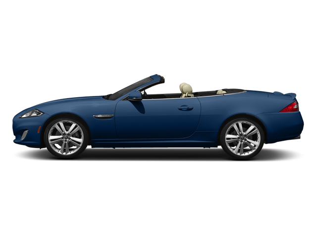 Osmium Blue Metallic 2014 Jaguar XK Pictures XK Convertible 2D V8 photos side view