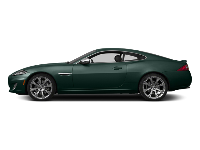 British Racing Green 2014 Jaguar XK Pictures XK Coupe 2D V8 photos side view