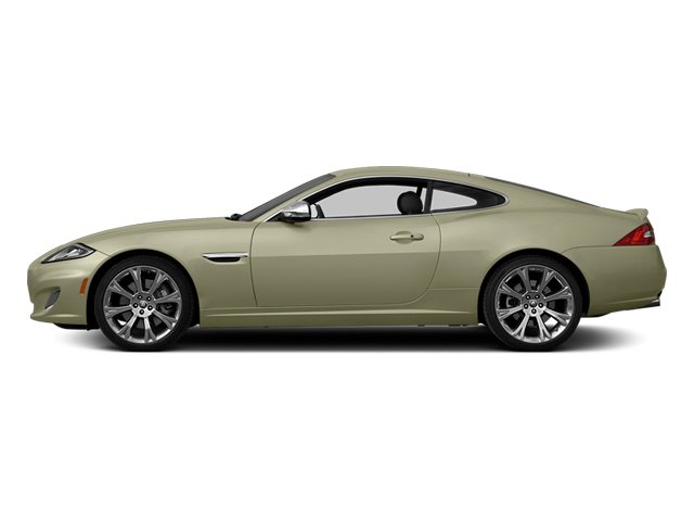 Cashmere Metallic 2014 Jaguar XK Pictures XK Coupe 2D V8 photos side view