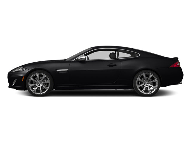 Ebony 2014 Jaguar XK Pictures XK Coupe 2D V8 photos side view