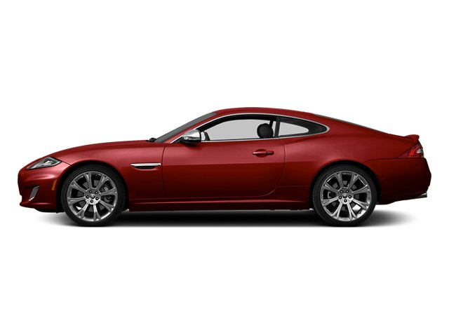 Italian Racing Red 2014 Jaguar XK Pictures XK Coupe 2D V8 photos side view