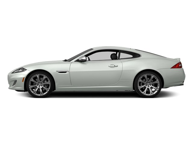 Polaris White 2014 Jaguar XK Pictures XK Coupe 2D V8 photos side view