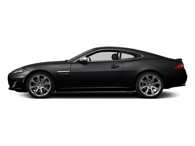 Ultimate Black Metallic 2014 Jaguar XK Pictures XK Coupe 2D V8 photos side view