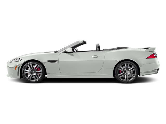Polaris White 2014 Jaguar XK Pictures XK Convertible 2D XKR-S V8 Supercharged photos side view