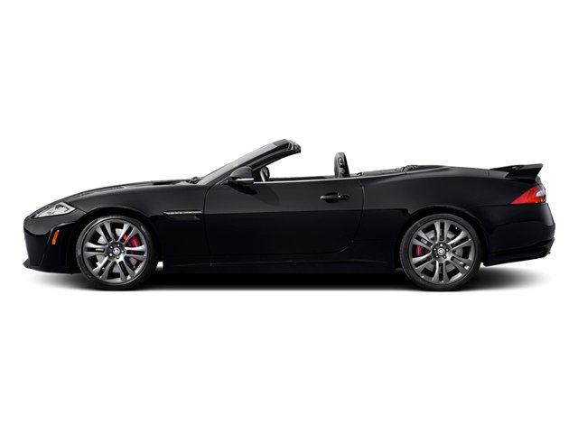 Stratus Gray Metallic 2014 Jaguar XK Pictures XK Convertible 2D XKR-S V8 Supercharged photos side view
