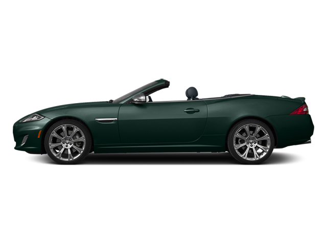 British Racing Green 2014 Jaguar XK Pictures XK Convertible 2D XKR V8 Supercharged photos side view