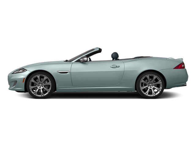 Crystal Blue Metallic 2014 Jaguar XK Pictures XK Convertible 2D XKR V8 Supercharged photos side view
