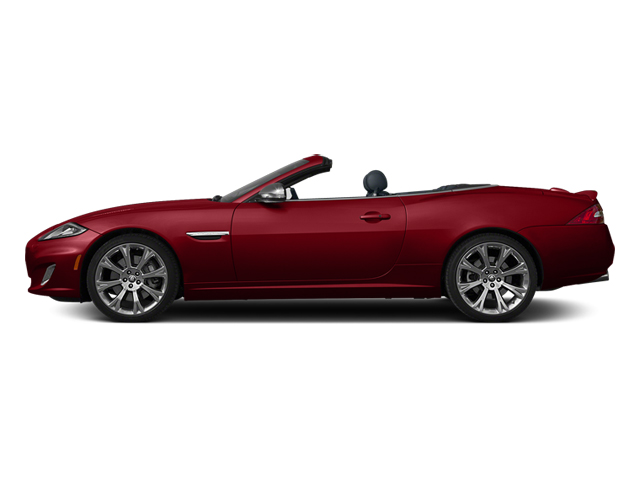 Italian Racing Red 2014 Jaguar XK Pictures XK Convertible 2D XKR V8 Supercharged photos side view